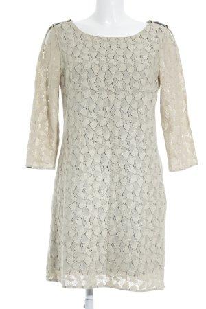 Patricia Pepe Langarmkleid beige Blumenmuster Casual-Look