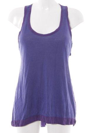 Patricia Pepe Tanktop blauviolett-dunkelviolett Casual-Look