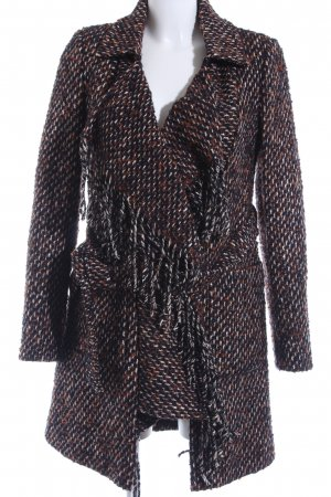 Patricia Pepe Between-Seasons-Coat mixed pattern casual look