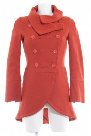 Patricia Pepe Wollmantel orange Casual-Look