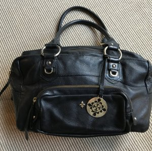 Cox Carry Bag black leather