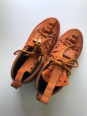 Patrick Mohr K1x Orange Wildleder Suede