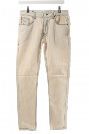 Patrick Mohr Slim Jeans weiß-creme Washed-Optik