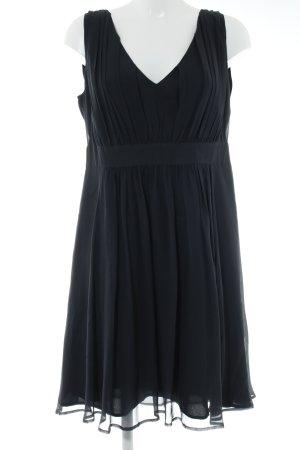 Patrizia Dini A-Linien Kleid anthrazit Elegant
