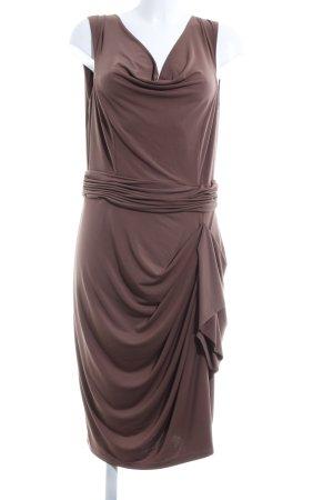 Patrizia Dini Blusenkleid braun Elegant