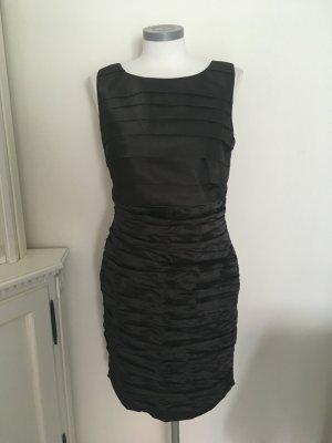 Patrizia Dini Heine Kleid schwarz 38 M