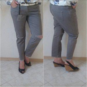 Patrizia Dini Jeans grau 38