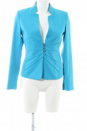 Patrizia Dini Kurzjacke blau Business-Look