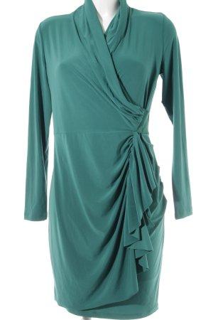 Patrizia Dini Langarmkleid grün Elegant