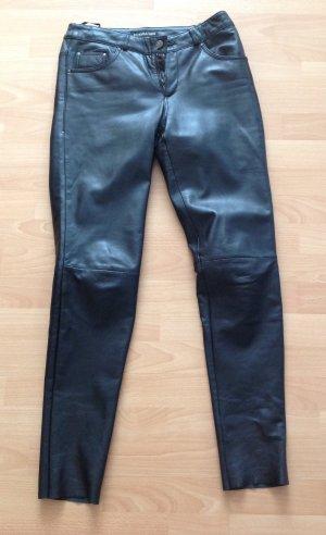 Patrizia Dini Pantalone in pelle nero Pelle