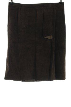 Patrizia Dini Lederrock bronzefarben Business-Look