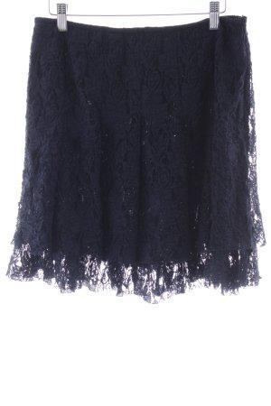 Patrizia Dini Minirock dunkelblau Elegant