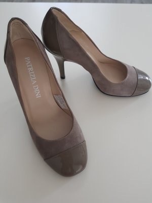 Patrizia Dini High Heels grey brown