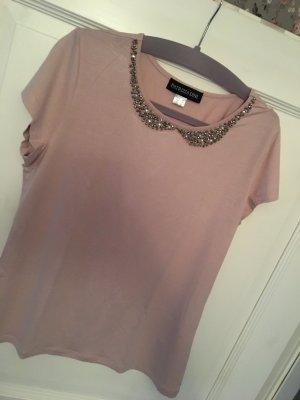 Patrizia Dini T-Shirt rosa Glitzer Gr. 38