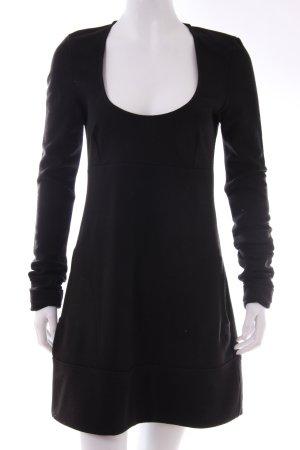 Patrizia Pepe ausgestelltes Kleid schwarz