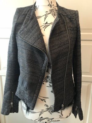Patrizia Pepe Blazer Jacket Luxus mit Fell Gr 36