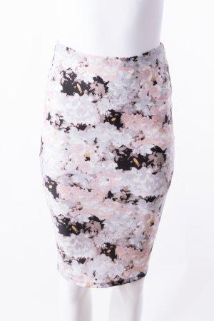 PATRIZIA PEPE - Bleistiftrock mit floralem Muster Rosé