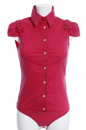Patrizia Pepe Bodysuit Blouse red casual look