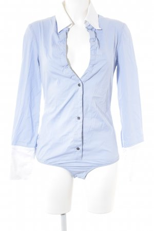 Patrizia Pepe Bodysuit Blouse azure simple style