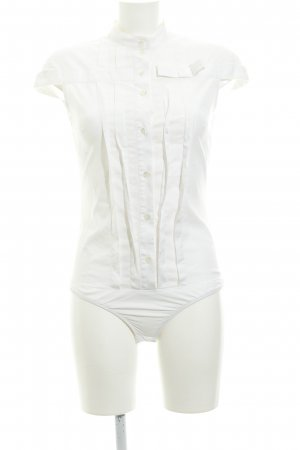 Patrizia Pepe Blusa tipo body blanco estilo «business»