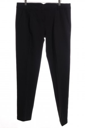 Patrizia Pepe Pleated Trousers black business style