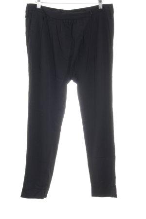Patrizia Pepe Pantalon à pinces noir style d'affaires