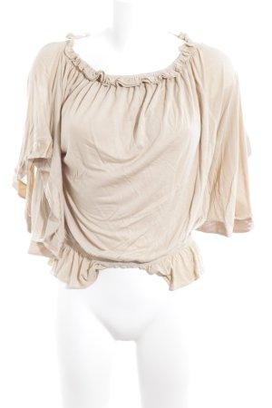 Patrizia Pepe Carmen-Bluse beige Casual-Look