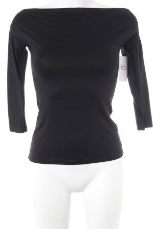 Patrizia Pepe Carmen shirt zwart elegant