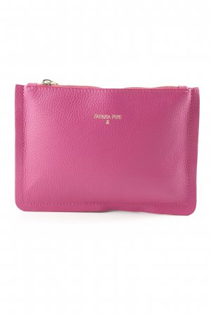Patrizia Pepe Clutch magenta-gold-colored street-fashion look