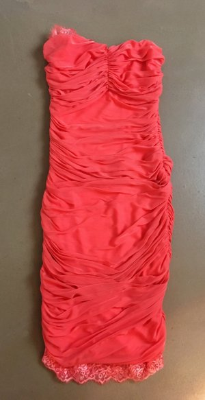 Patricia Pepe Evening Dress salmon-bright red polyester