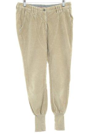 Patrizia Pepe Corduroy Trousers beige urban style