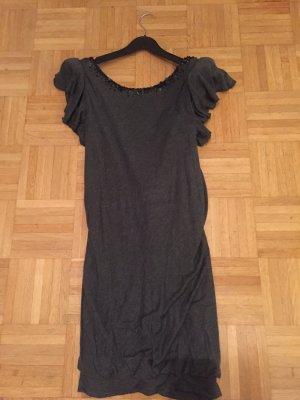 Patrizia Pepe - dunkelgraues rückenfreies Kleid