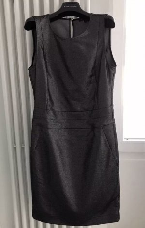 PATRIZIA PEPE Etuikleid Abito Dress Kleid / Anthrazit / ital. 44 deutsch 38
