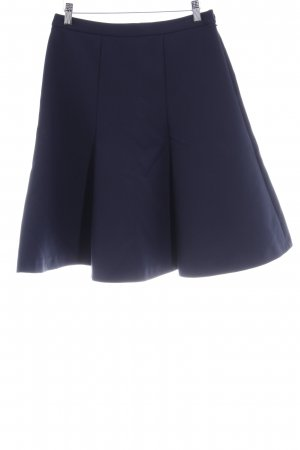 Patrizia Pepe Plaid Skirt dark blue business style