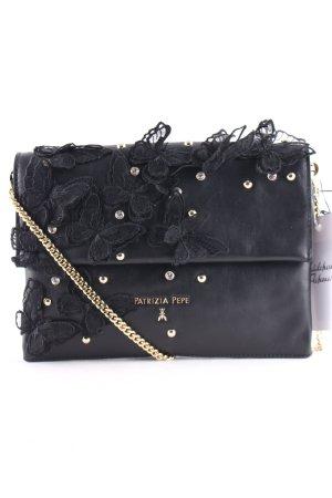 Patrizia Pepe Handbag black-gold-colored street-fashion look
