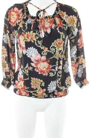 Patrizia Pepe Hemd-Bluse Blumenmuster Elegant