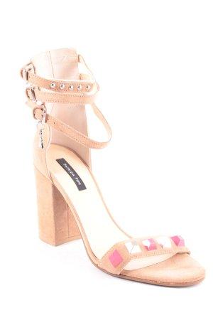 Patrizia Pepe High Heel Sandaletten mehrfarbig Elegant