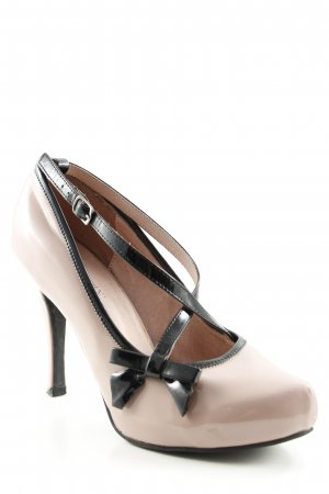 Patrizia Pepe High Heels schwarz-altrosa Elegant