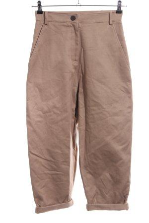 Patrizia Pepe Hoge taille broek beige casual uitstraling