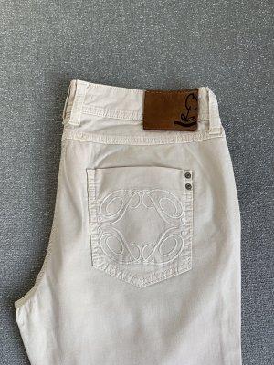Patrizia Pepe Pantalone chino crema