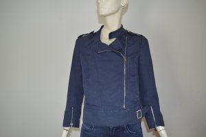 Patrizia Pepe Blouson blue cotton