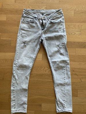 Patrizia Pepe Baggy Jeans light grey