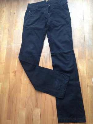 Patrizia Pepe Jeans coupe-droite noir