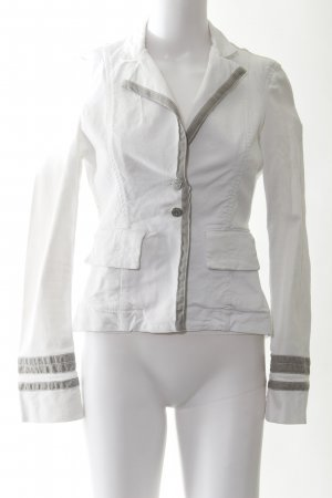 Patrizia Pepe Denim Blazer white casual look