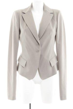 Patrizia Pepe Jerseyblazer hellgrau-beige Business-Look