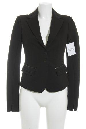 Patrizia Pepe Jerseyblazer schwarz Business-Look