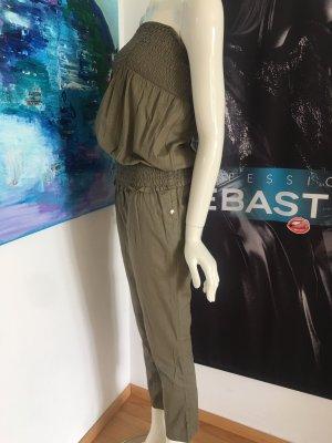 Patrizia Pepe Jumpsuit Khaki oliv wie neu sehr cool gr 42 34/36