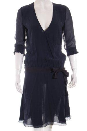 Patrizia Pepe Kleid dunkelblau Elegant