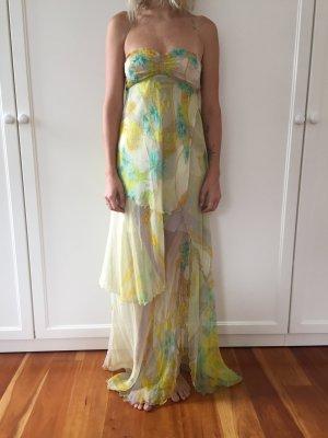 Patrizia Pepe Off-The-Shoulder Dress multicolored