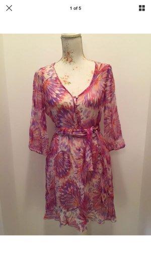 ❤️ PATRIZIA PEPE Kleid Seidenkleid Gr. 36/38